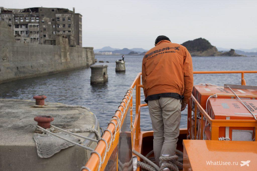 Поездка на остров Gunkanjima в Японии
