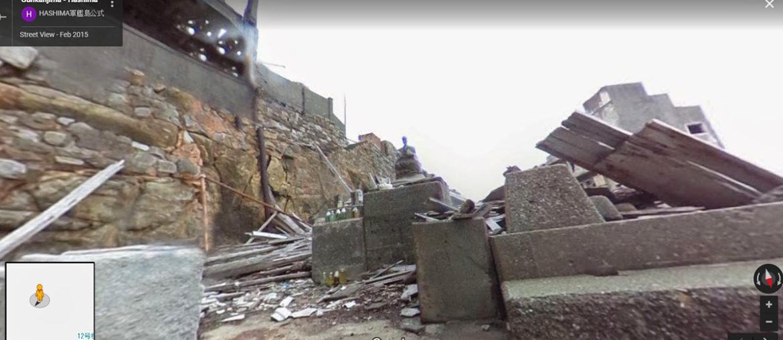Как выглядит заброшенный остров Хасима внутри