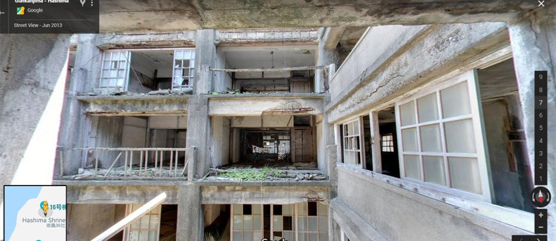 Внутри города-призрака Хасима
