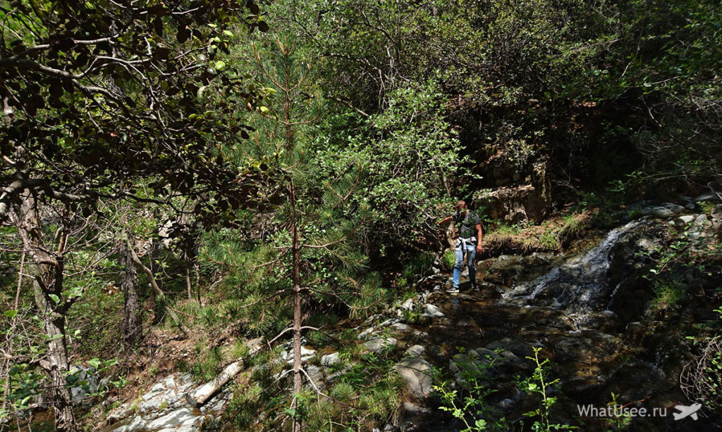 Как добраться до водопада Каледония