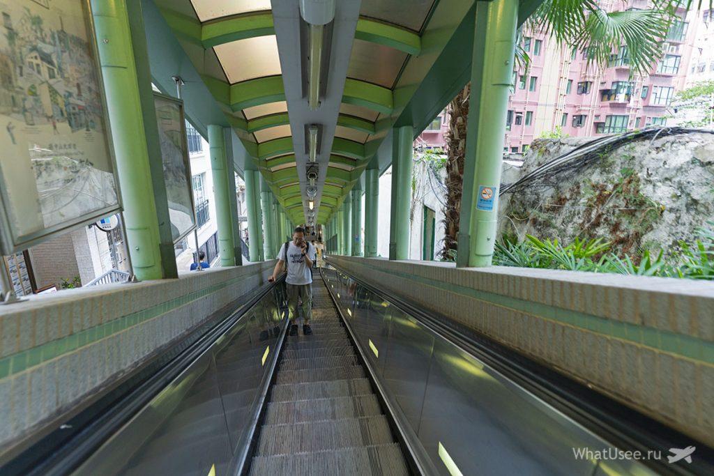 Эскалатор Mid-Levels