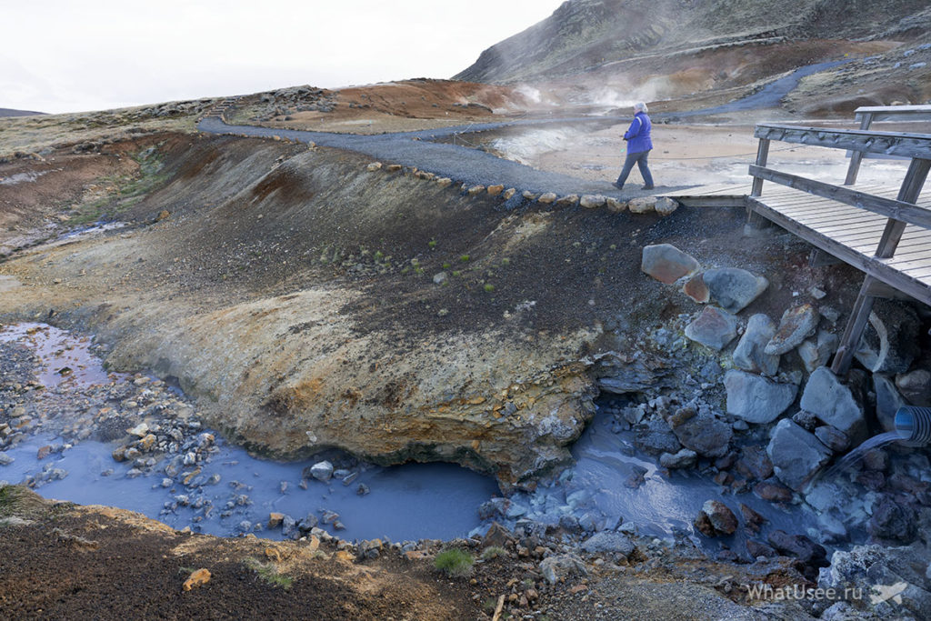Геотермальная зона Крисювик Рейкьянес