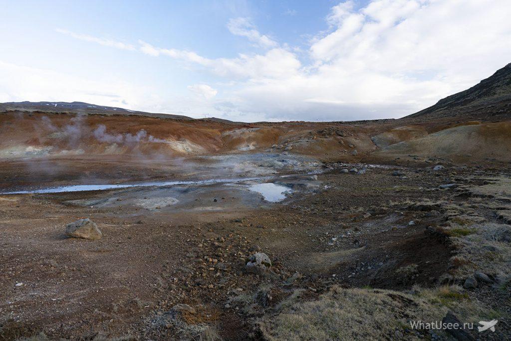Геотермальные зоны полуострова Рейкьянес