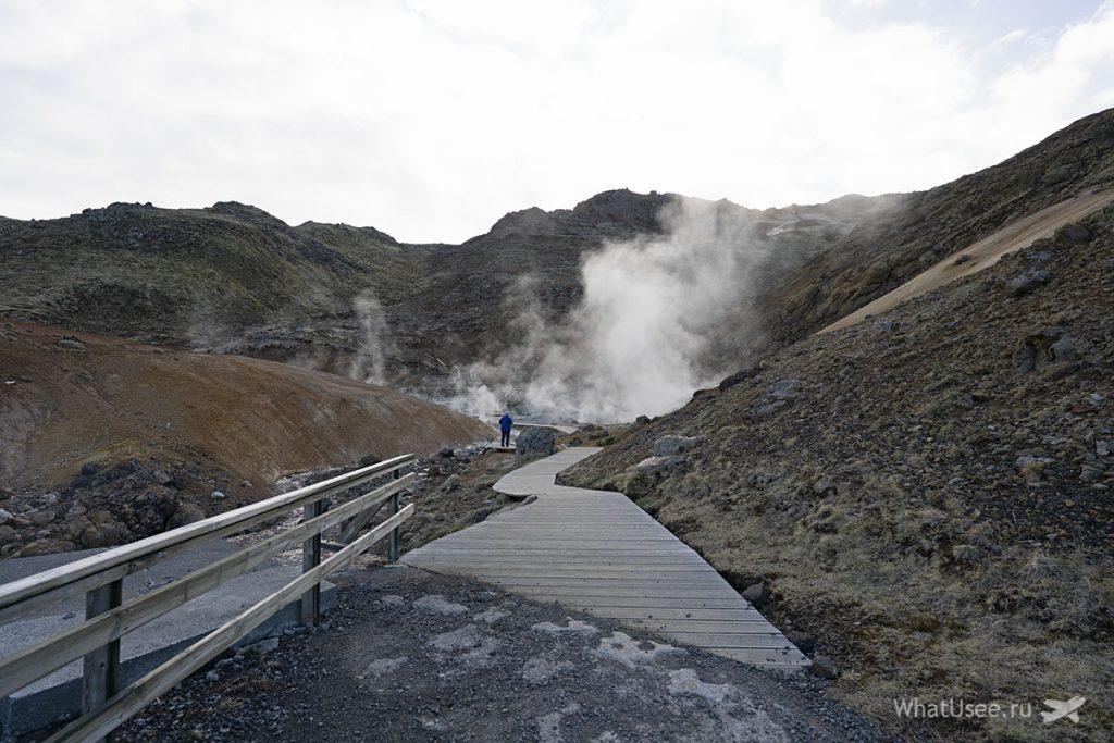 Что посмотреть на полуострове Рейкьянес в Исландии