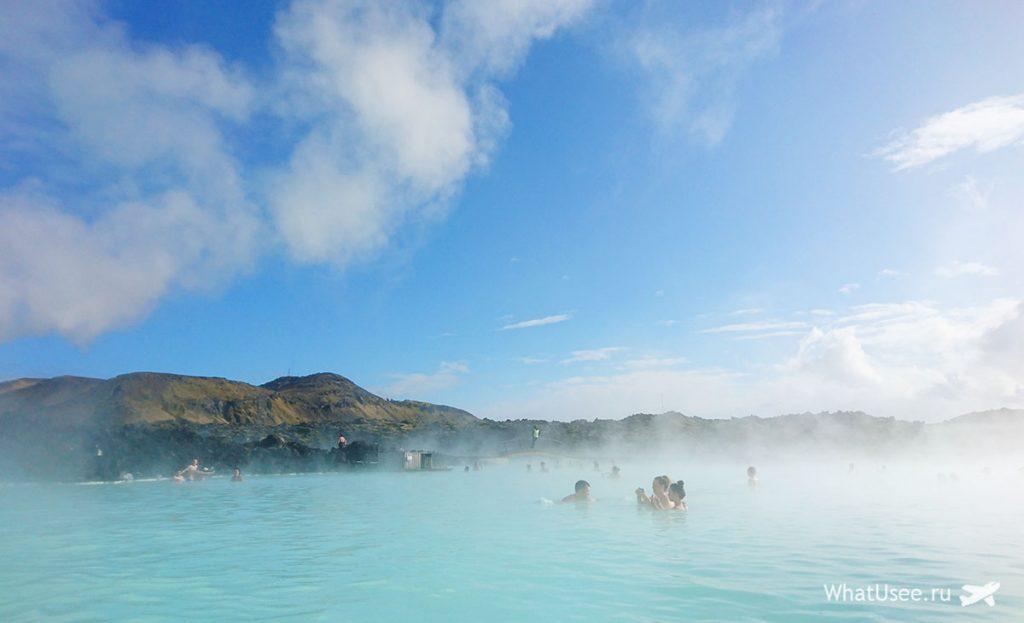 Маршрут к Голубой Лагуне в Исландии