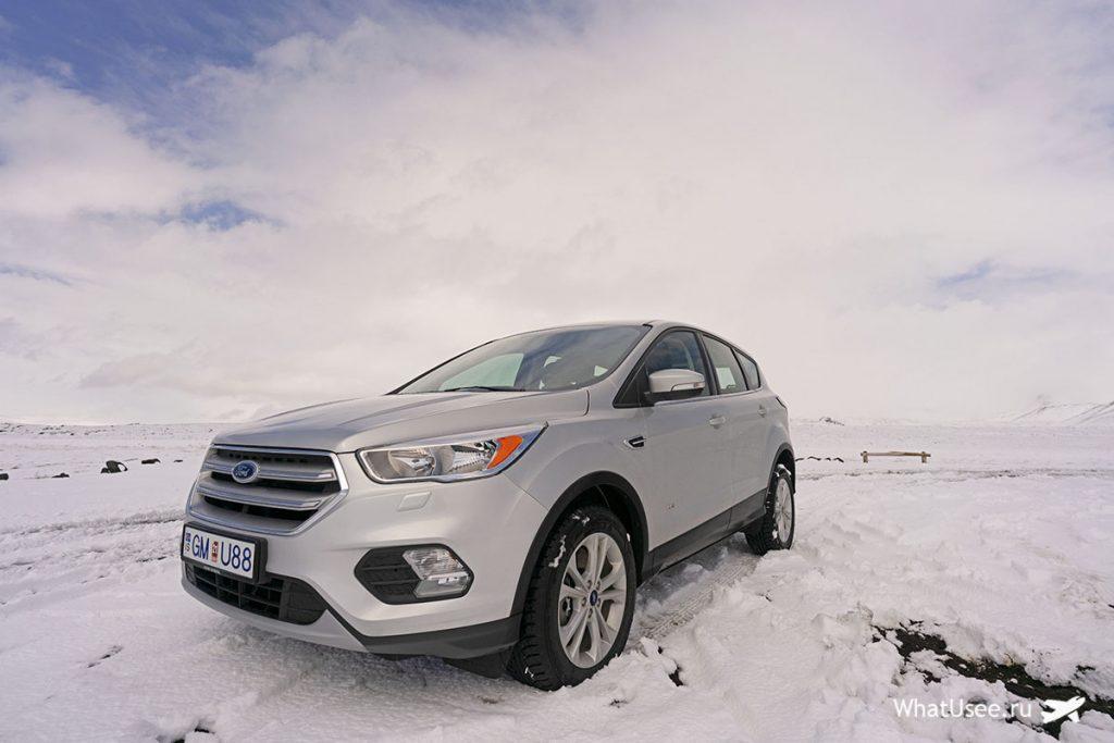Машины в Исландии