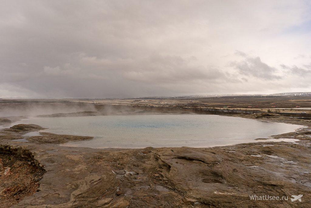 Гейзеры в Исландии
