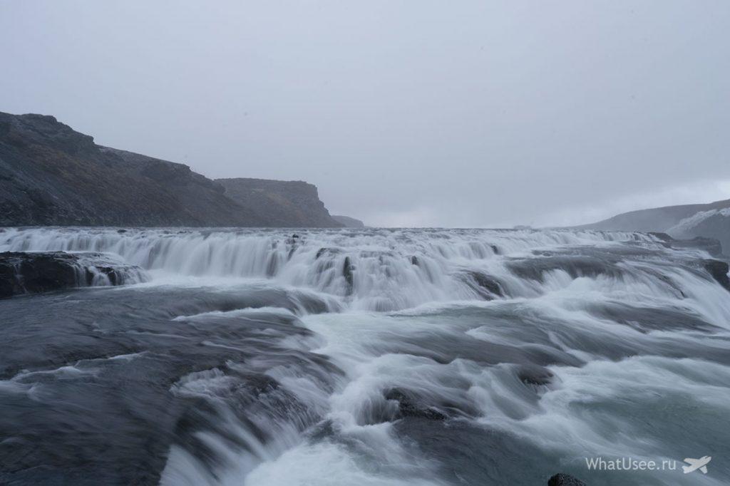 Водопад Гульфосс на Золотом Кольце