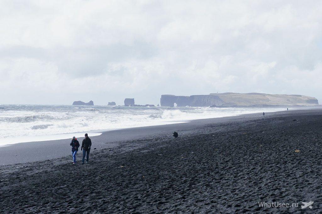 Чёрный пляж Reynisfjara Beach