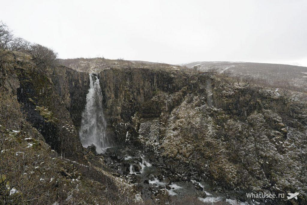Самые известные водопады Исландии