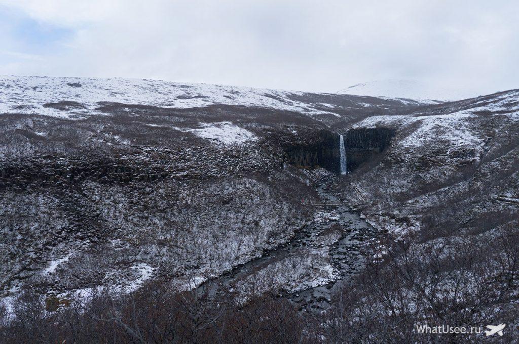 Водопад Сватифосс фото