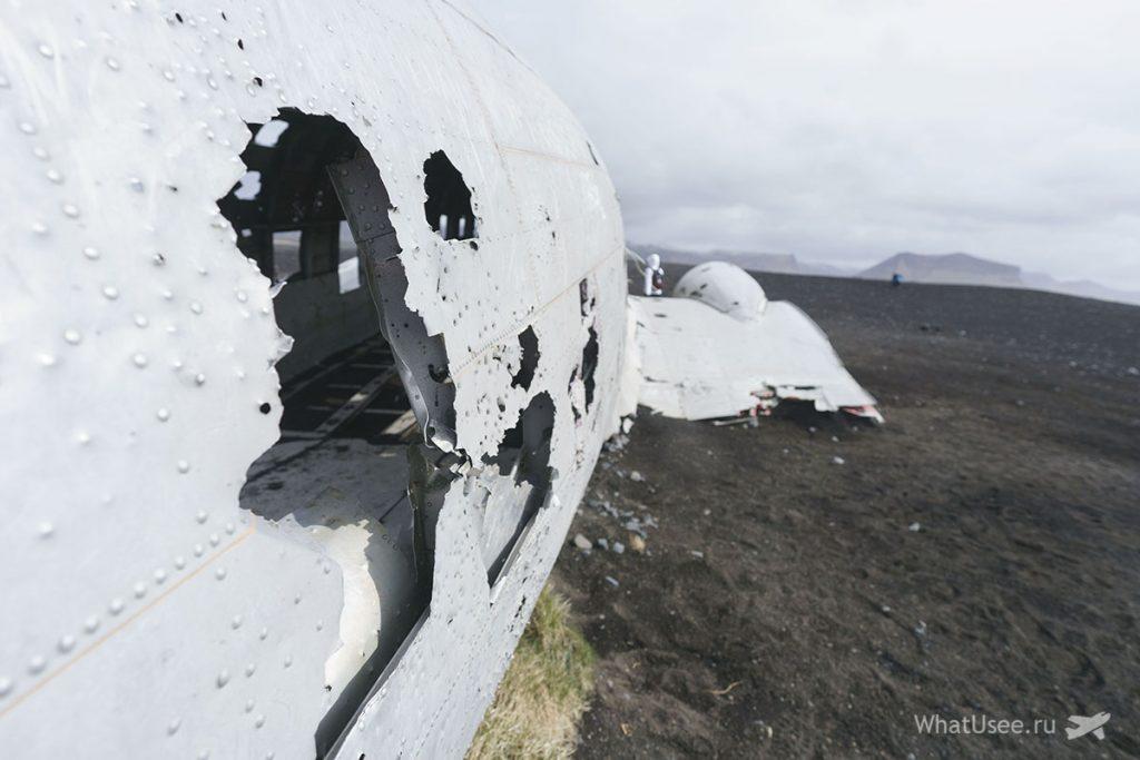 Solheimasandur Plane Wreck Исландия
