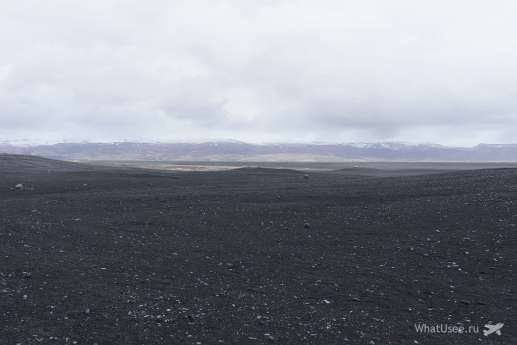 Обломки самолета Solheimasandur Plane Wreck в Исландии