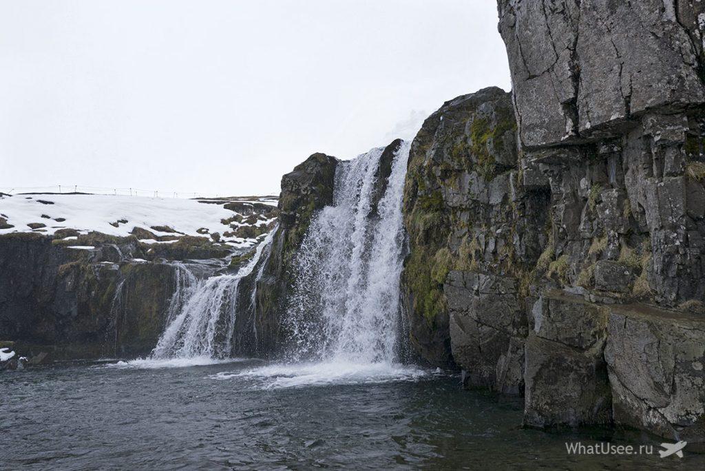 Водопад Киркьюфетль Исландия