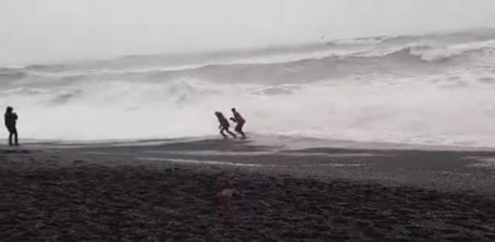 Пляж Рейнисфьяра Исландия