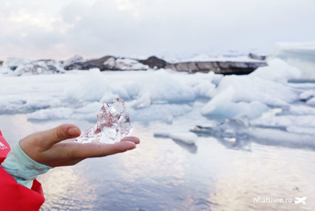 Маршрут к Ледниковой Лагуне в Исландии