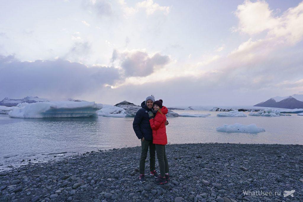 Ледяная лагуна в Исландии