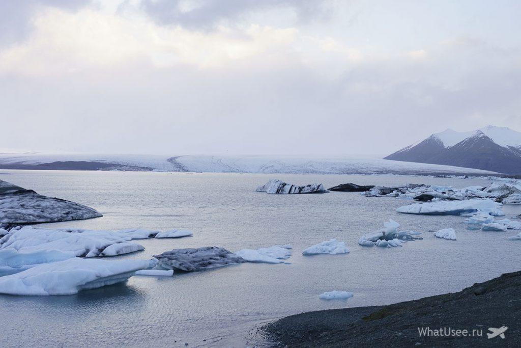 Jokulsarlon Glacier Lagoon в Исландии