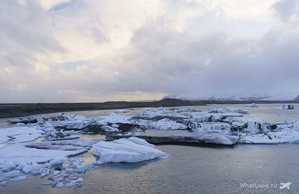 Ледниковая Лагуна Jokulsarlon