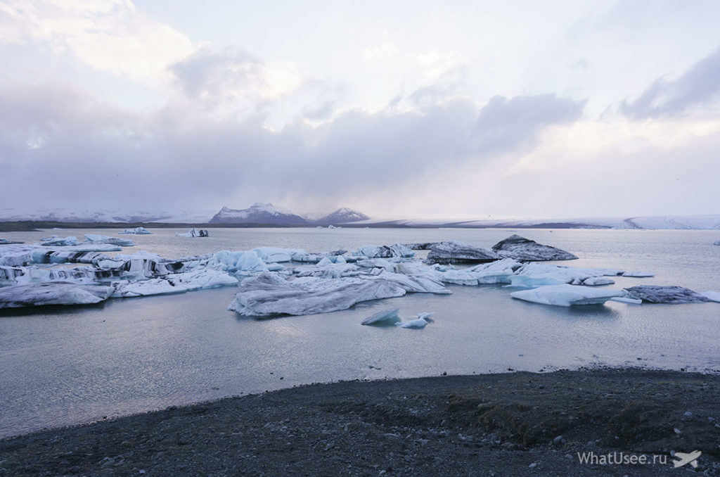 Ледниковая Лагуна Jokulsarlon Glacier Lagoon Исландия