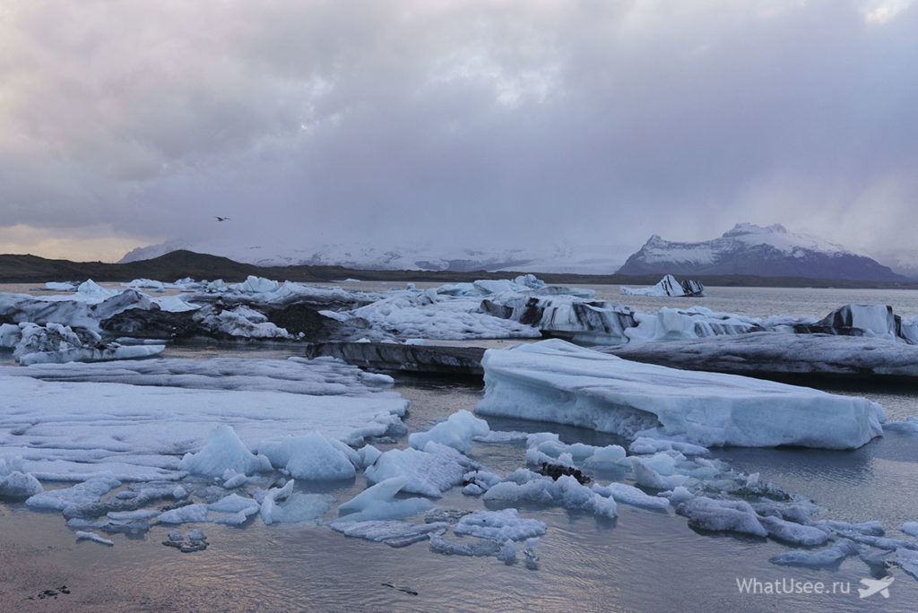 Ледниковая Лагуна Jokulsarlon Glacier Lagoon