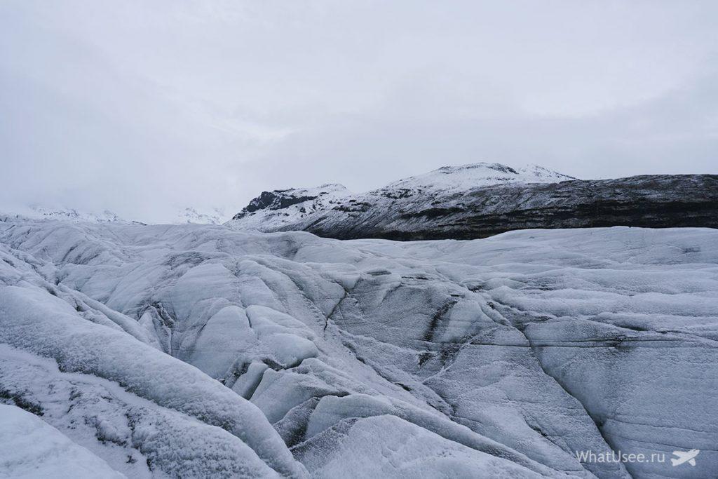 Экскурсия на ледник Ватнайёкюдль