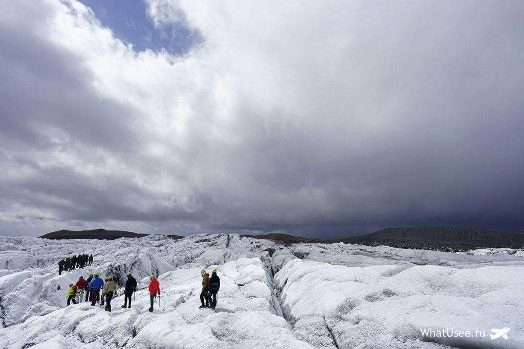 Маршрут по Исландии до Скафтафетля