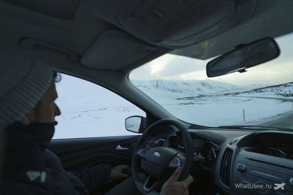 Как проехать на Снайфедльснес в Исландии