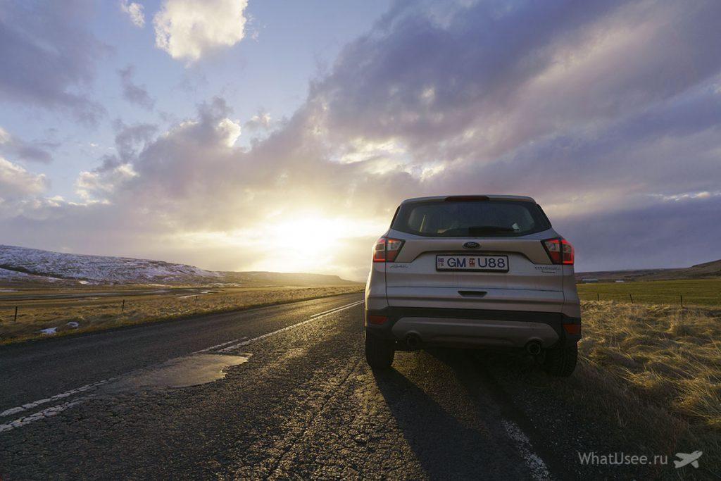 Что стоит посмотреть по дороге на Снайфедльснес Исландия