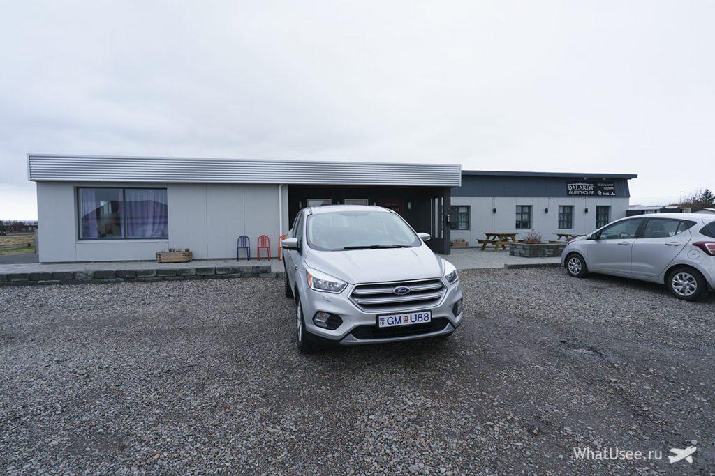 Отели на полуострове Снайфедльснес в Исландии