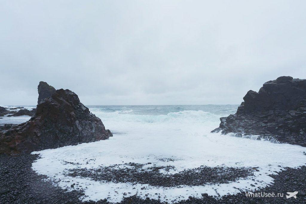 Скалы на полуострове Снайфедльснес