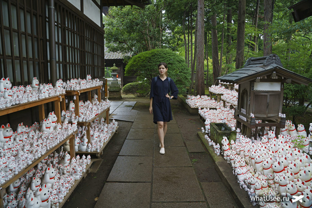 Храм Готокудзи в Токио