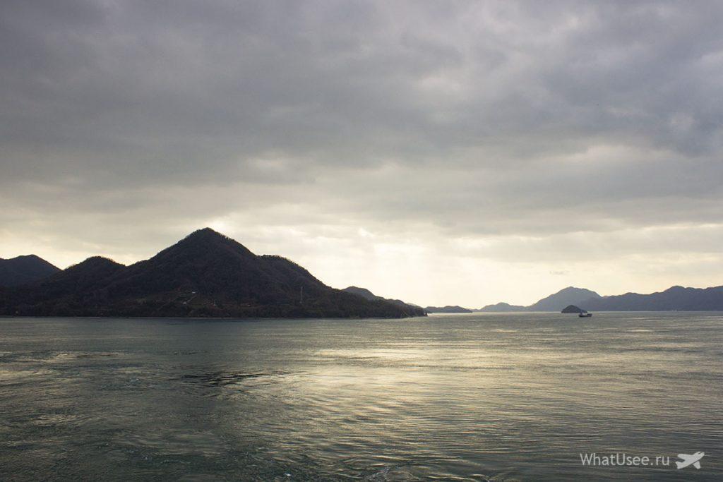 Остров Окуносима в Японии
