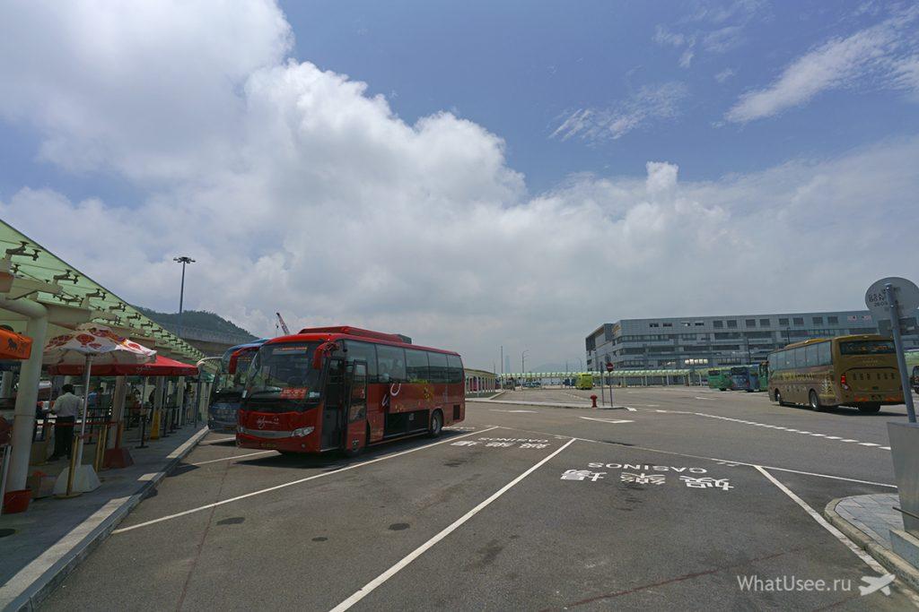 Автобус в Макао казино WYNN