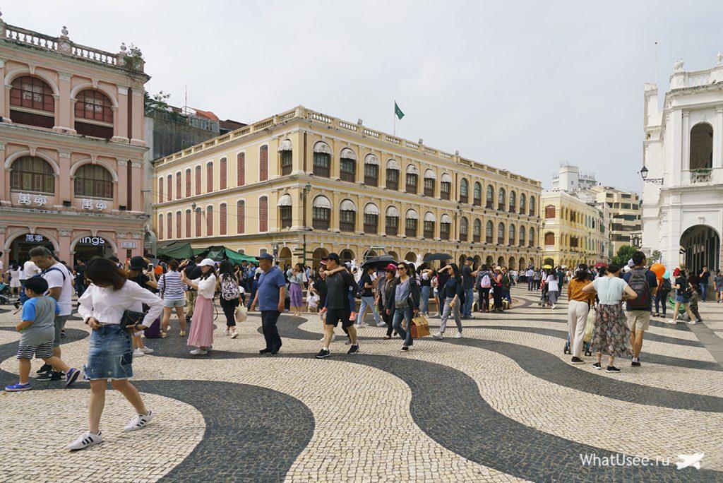 Площадь Сенадо Макао
