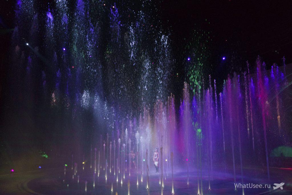 Шоу танцующей воды Макао