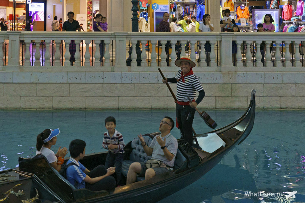 В казино Venetian в Макао