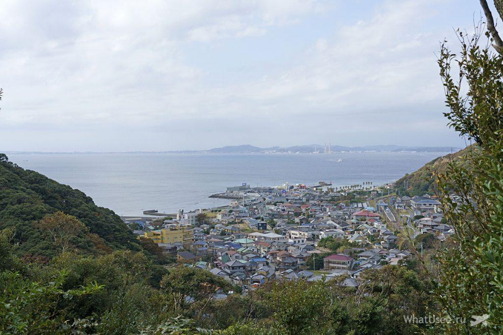 Гора Нокогирияма в Японии