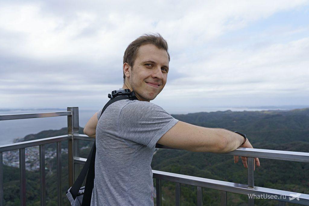Поездка на гору Нокогирияма в Японии