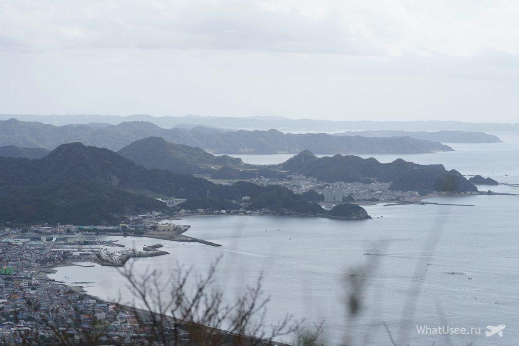 Вершина горы Нокогирияма