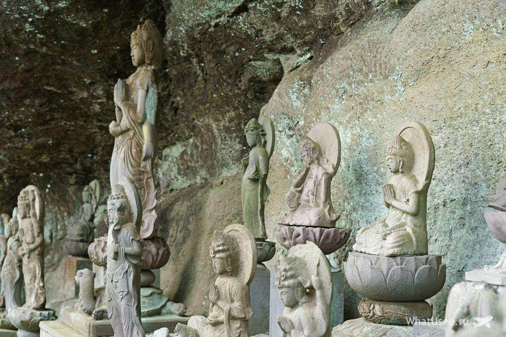 Будда на горе Нокогирияма Япония