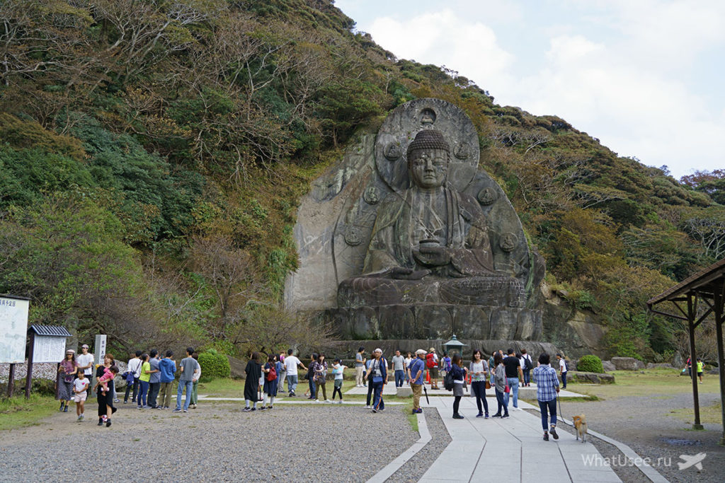 Будда на горе Нокогирияма