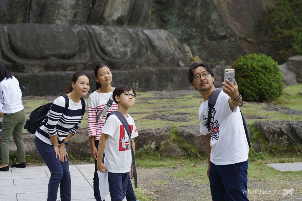 Будда на горе Нокогирияма Чиба