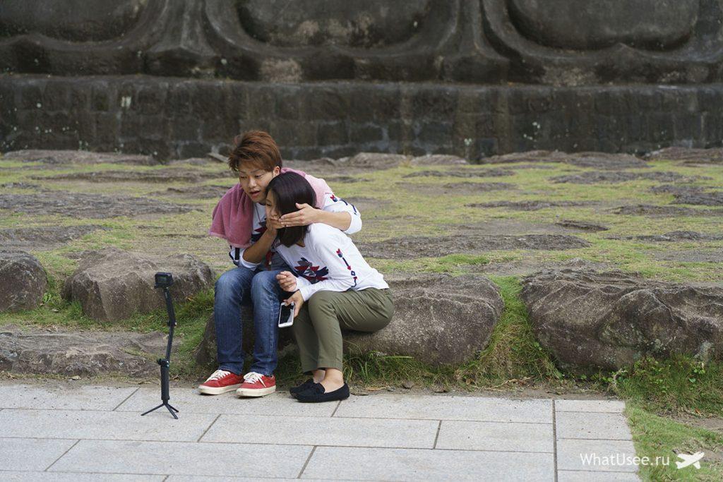 Будда на горе Нокогирияма Токио