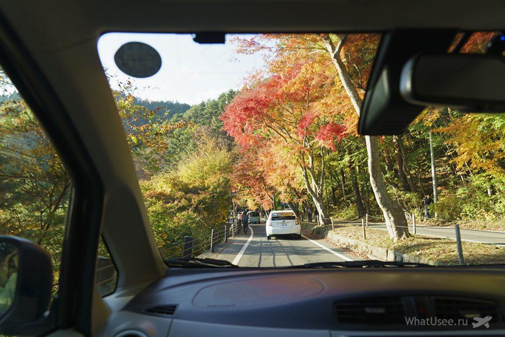 Как добраться до озера Кавагучико Япония