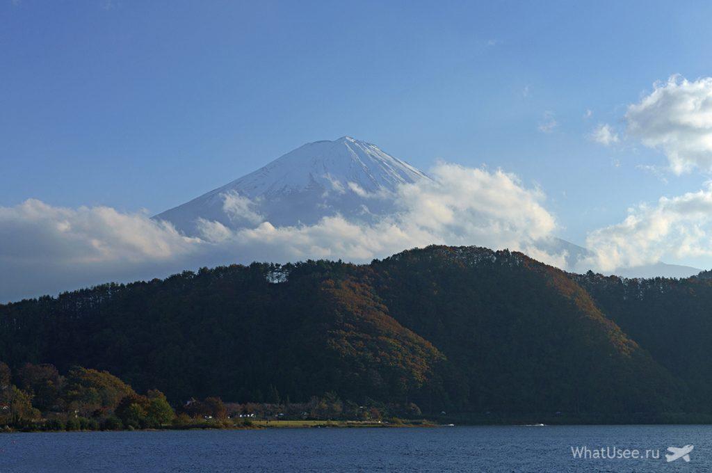 Япония озеро Кавагучико