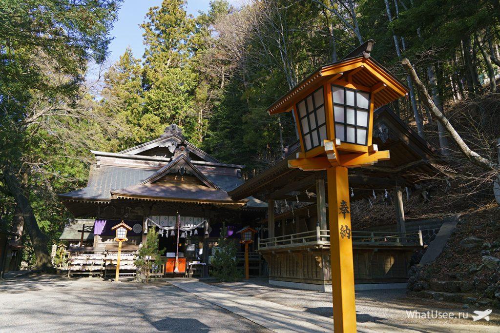 Храмы в городе Кавагучико