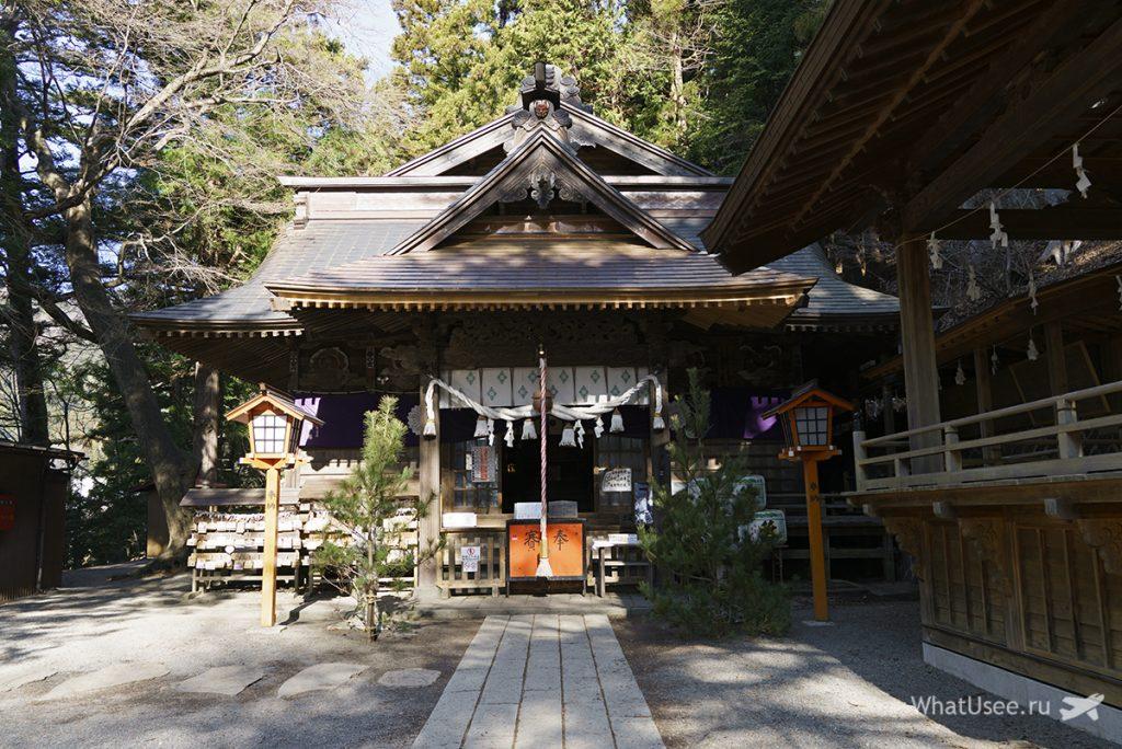 Храмы Кавагучико
