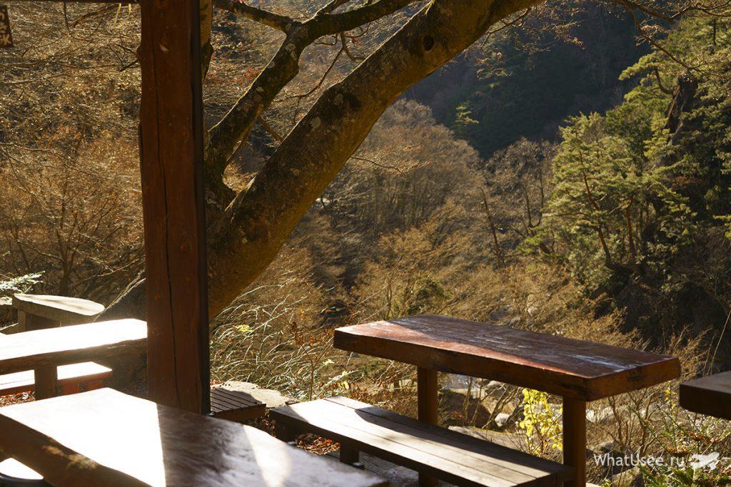 Ущелье Shosenkyo в Японии