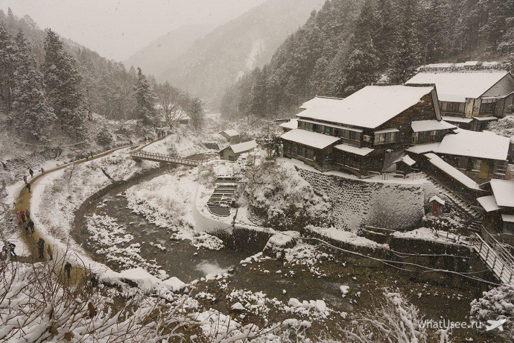 Парк снежных обезьян Нагано